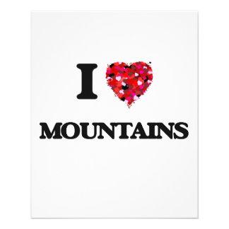 I love Mountains 11.5 Cm X 14 Cm Flyer