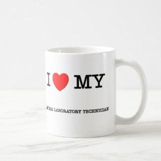 I Love My ANIMAL LABORATORY TECHNICIAN Classic White Coffee Mug