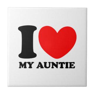 I Love My Auntie Tile