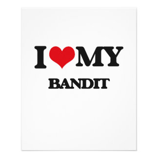 I love my Bandit Personalized Flyer