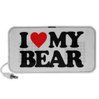I LOVE MY BEAR SPEAKER