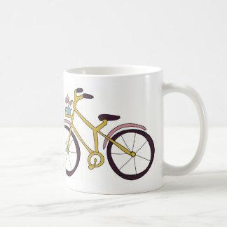 I love my bike! basic white mug