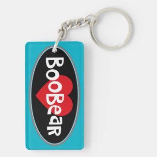 I Love my BOOBEAR Key Ring