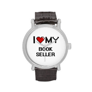I love my Book Seller Wrist Watches