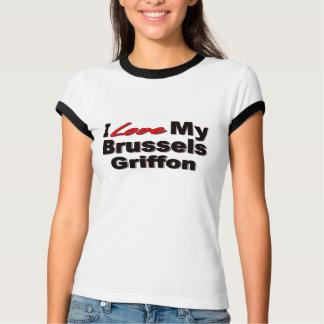 I Love My Brussels Griffon T-Shirt