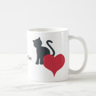 I Love My Cats Coffee Mug