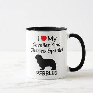 I Love My Cavalier King Charles Spaniel Dog Mug