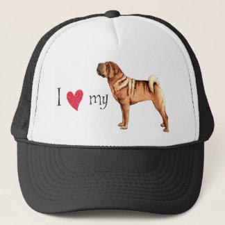 I Love my Chinese Shar-Pei Trucker Hat