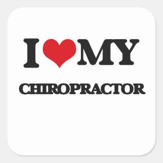 I love my Chiropractor Sticker