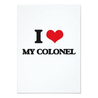 I love My Colonel 13 Cm X 18 Cm Invitation Card