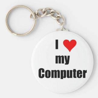 I love my computer Keychain