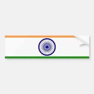 I Love MY Country India Car Bumper Sticker