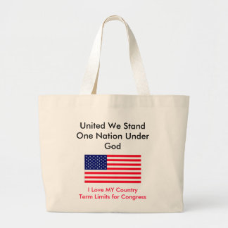 I Love MY Country Term Limits for Congress Bags