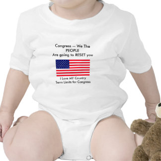I Love MY Country Term Limits for Congress Tshirts