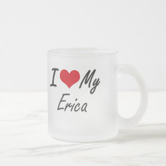 I love my Erica Frosted Glass Coffee Mug