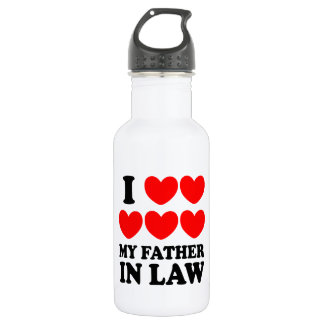 I Love My Father In Law 532 Ml Water Bottle