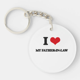 I Love My Father-In-Law Key Chains