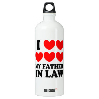 I Love My Father In Law SIGG Traveller 1.0L Water Bottle