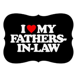 I LOVE MY FATHERS-IN-LAW INVITATION