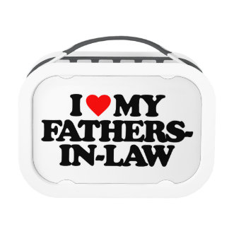 I LOVE MY FATHERS-IN-LAW LUNCH BOX