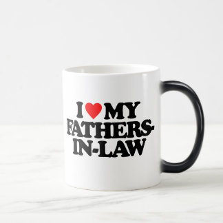 I LOVE MY FATHERS-IN-LAW MORPHING MUG