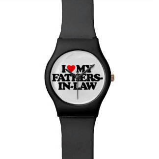I LOVE MY FATHERS-IN-LAW WRISTWATCHES