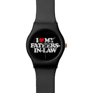 I LOVE MY FATHERS-IN-LAW WRIST WATCH