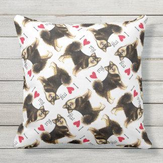 I Love my Finnish Lapphund Cushion