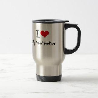 I Love My Freethinker Mug