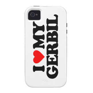 I LOVE MY GERBIL iPhone 4/4S COVER