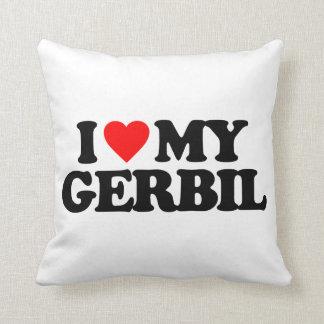 I LOVE MY GERBIL CUSHION