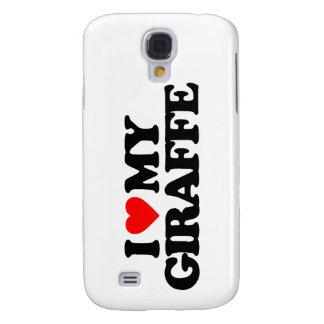 I LOVE MY GIRAFFE SAMSUNG GALAXY S4 CASE