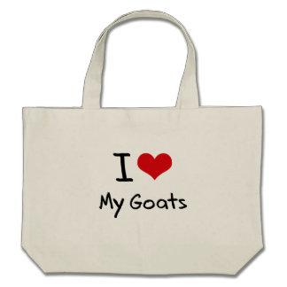 I Love My Goats Bags
