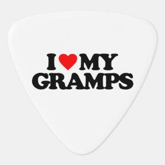 I LOVE MY GRAMPS PLECTRUM