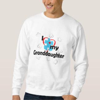 I Love My Granddaughter - Autism Sweatshirt