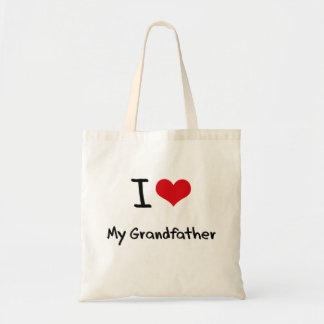 I love My Grandfather Tote Bag