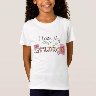 I Love My Granny, Girl's Baby Doll Shirt