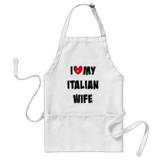 I Love My Italian Wife Standard Apron