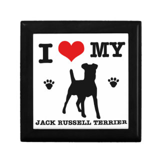 I Love my Jack Russell Terrier Gift Box