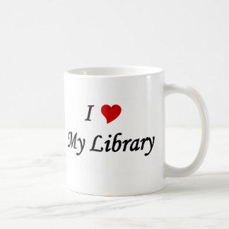 I love my library coffee mug