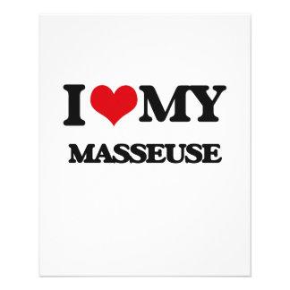 I love my Masseuse Full Color Flyer