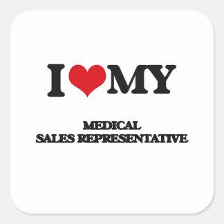 I love my Medical Sales Representative Sticker