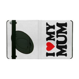 I LOVE MY MUM iPad COVER