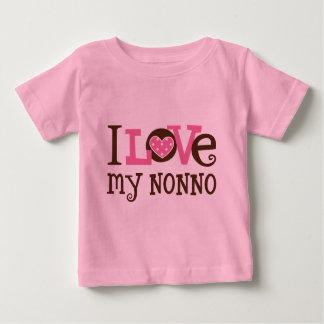 I Love My Nonno Baby T-Shirt