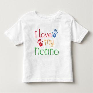 I Love My Nonno (Handprints) Toddler T-Shirt