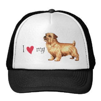 I Love my Norfolk Terrier Cap