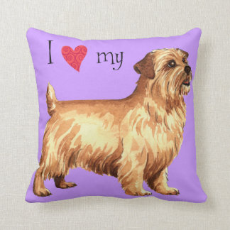 I Love my Norfolk Terrier Cushion