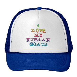 I Love My Nubian Goats Trucker Hat