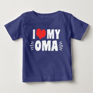 I love My Oma Baby T-Shirt
