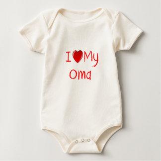 I Love My Oma Infant Toddler T-Shirt